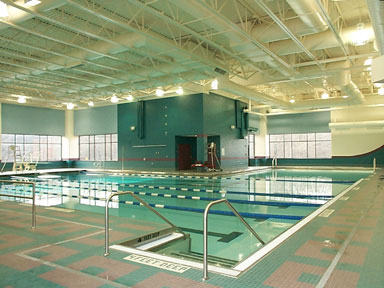 Pool & Fitness Center Closed on Sunday due to weather