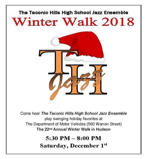 Winter Walk 2018-TH Jazz Poster
