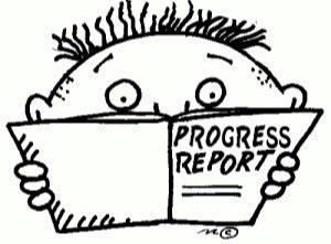 porgress report