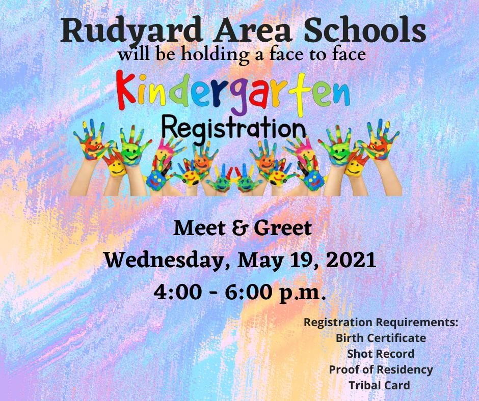 Kindergarten Roundup Information
