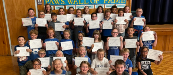 August PAWS winners-Responsibility