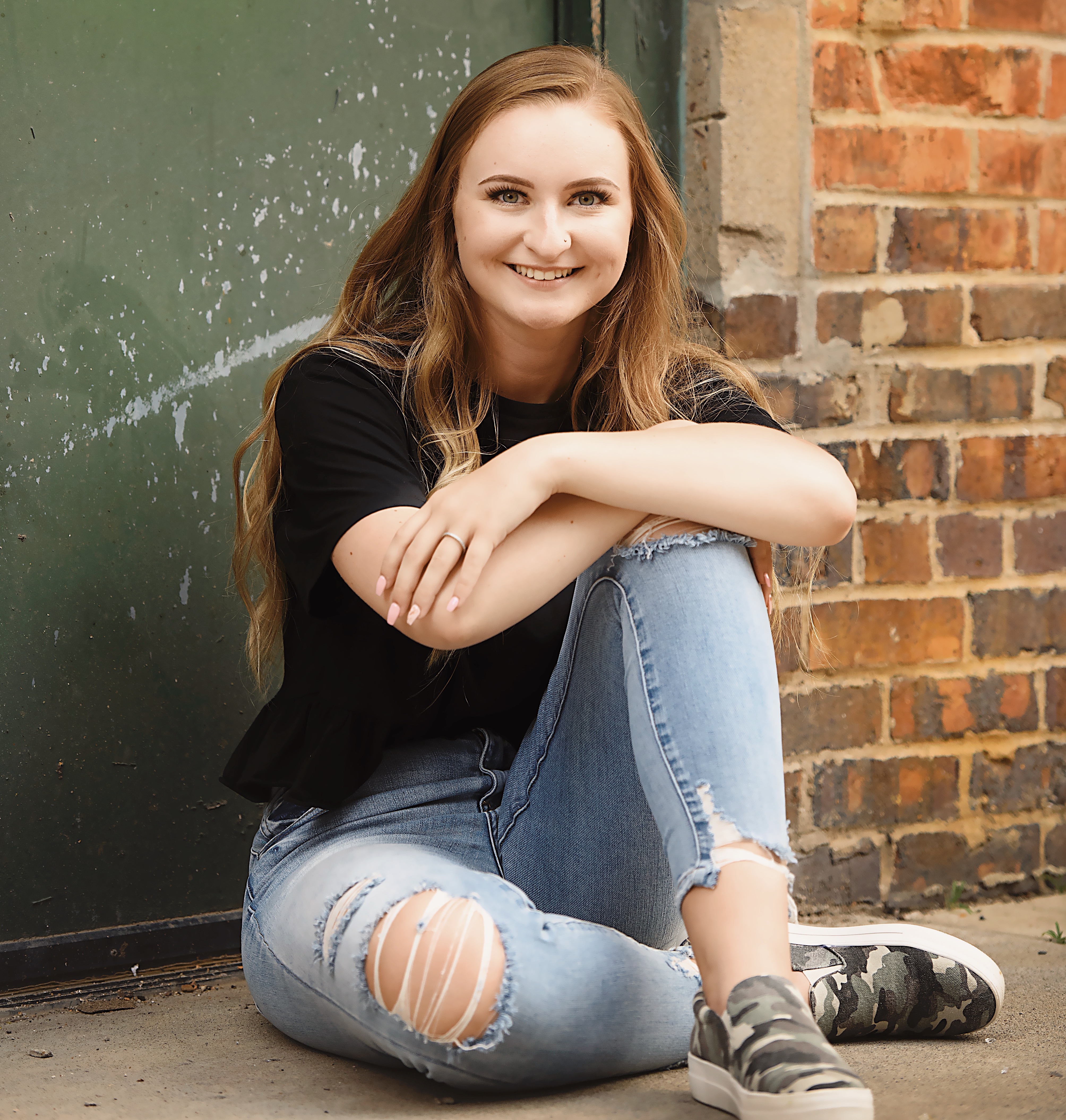 Senior Emma Gourley