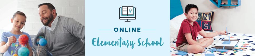 Online Elementary School banner