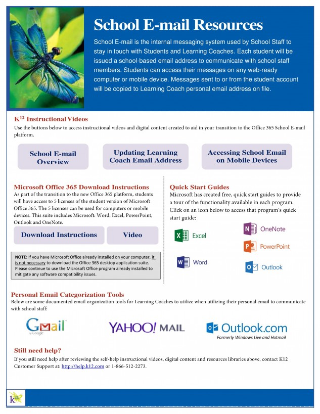 School Email Resources