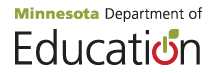 Minnesota Department of Education