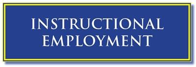 instructional employment