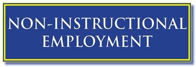 non-instructional employment