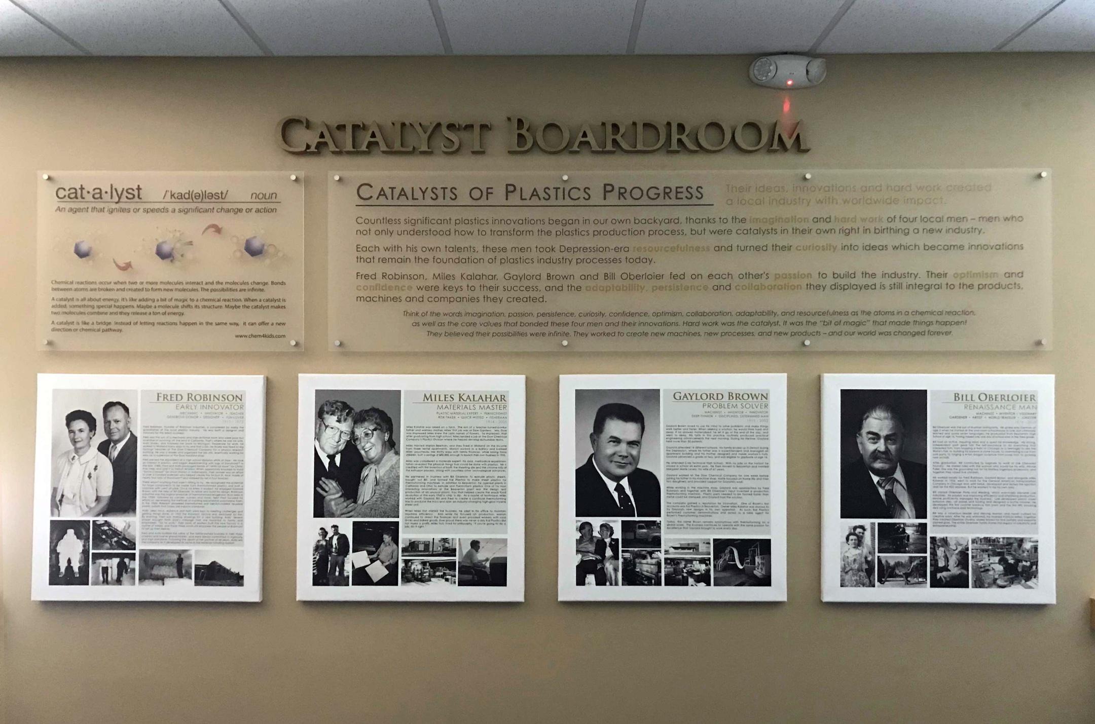 catalyst boardroom wall