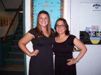 Mrs. Bassett (left) and Mrs. Bowen(right)