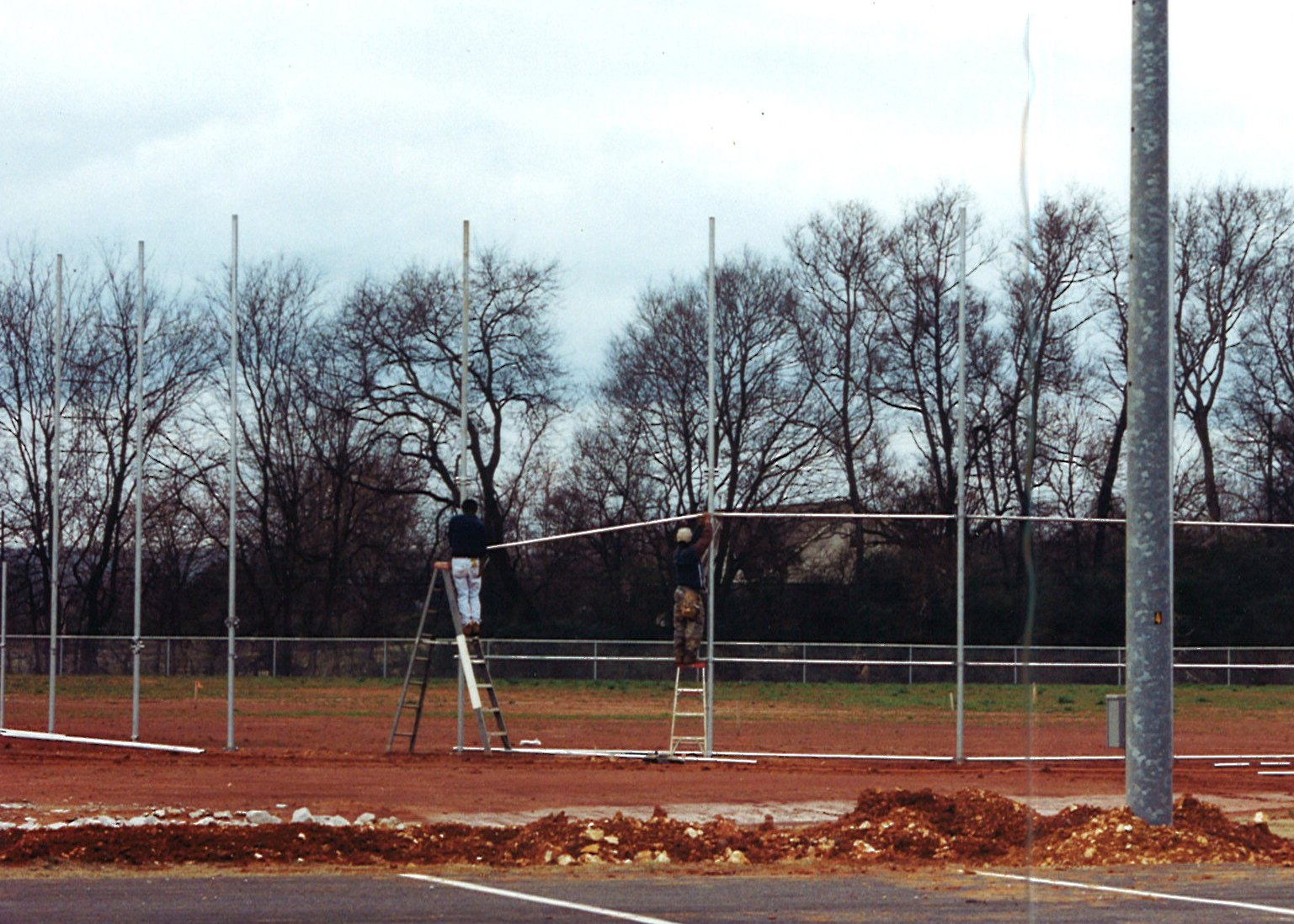 Building the ball field
