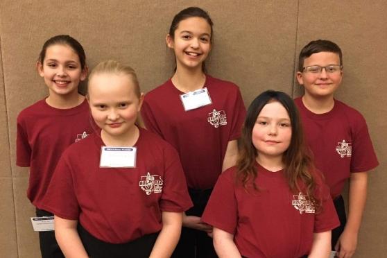 Honors Choir Students