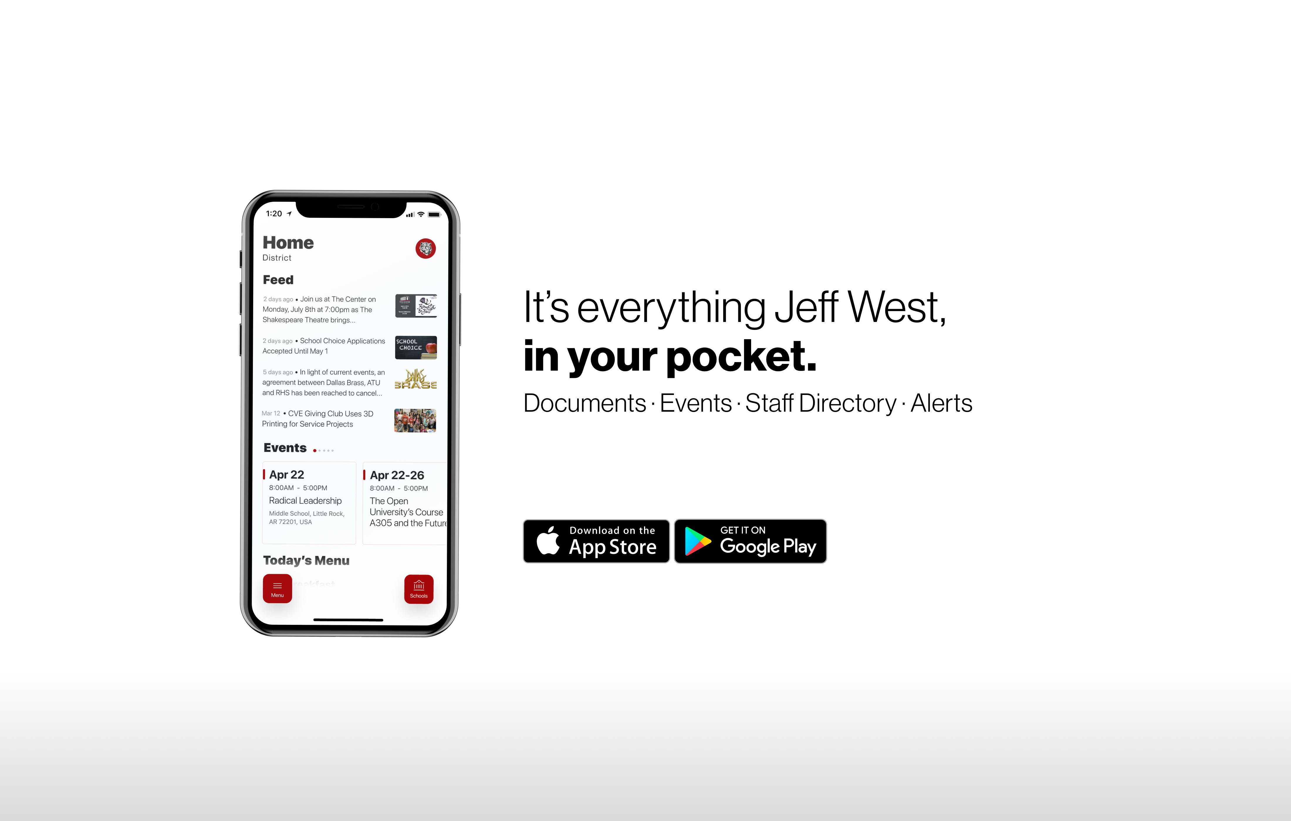 Jefferson West's new app