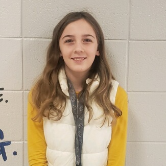 6th Grade Student of the Month