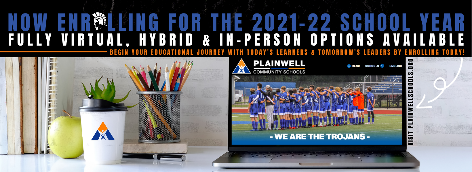 2021-22 Enrollment Website Banner