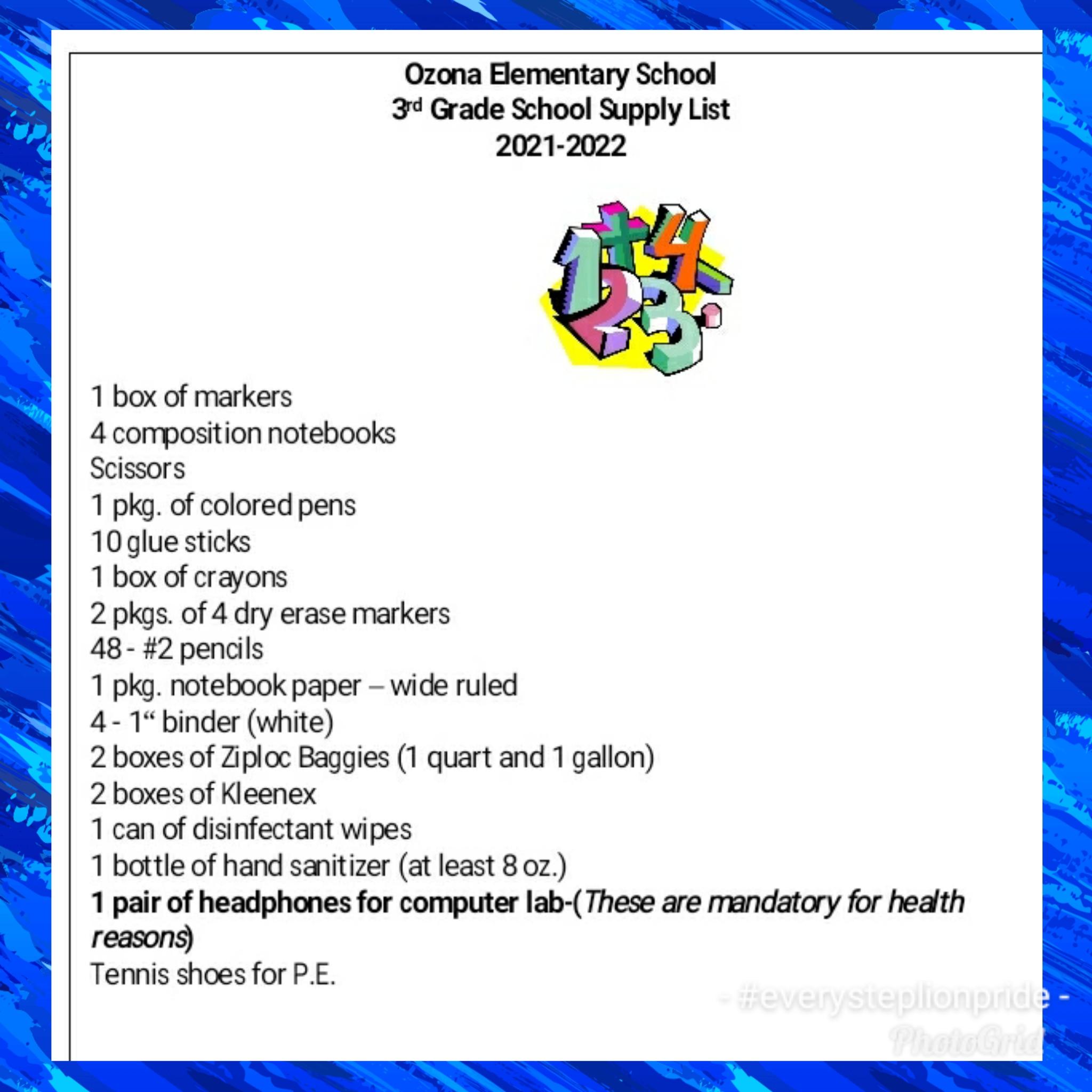 3rd grade 2021-22