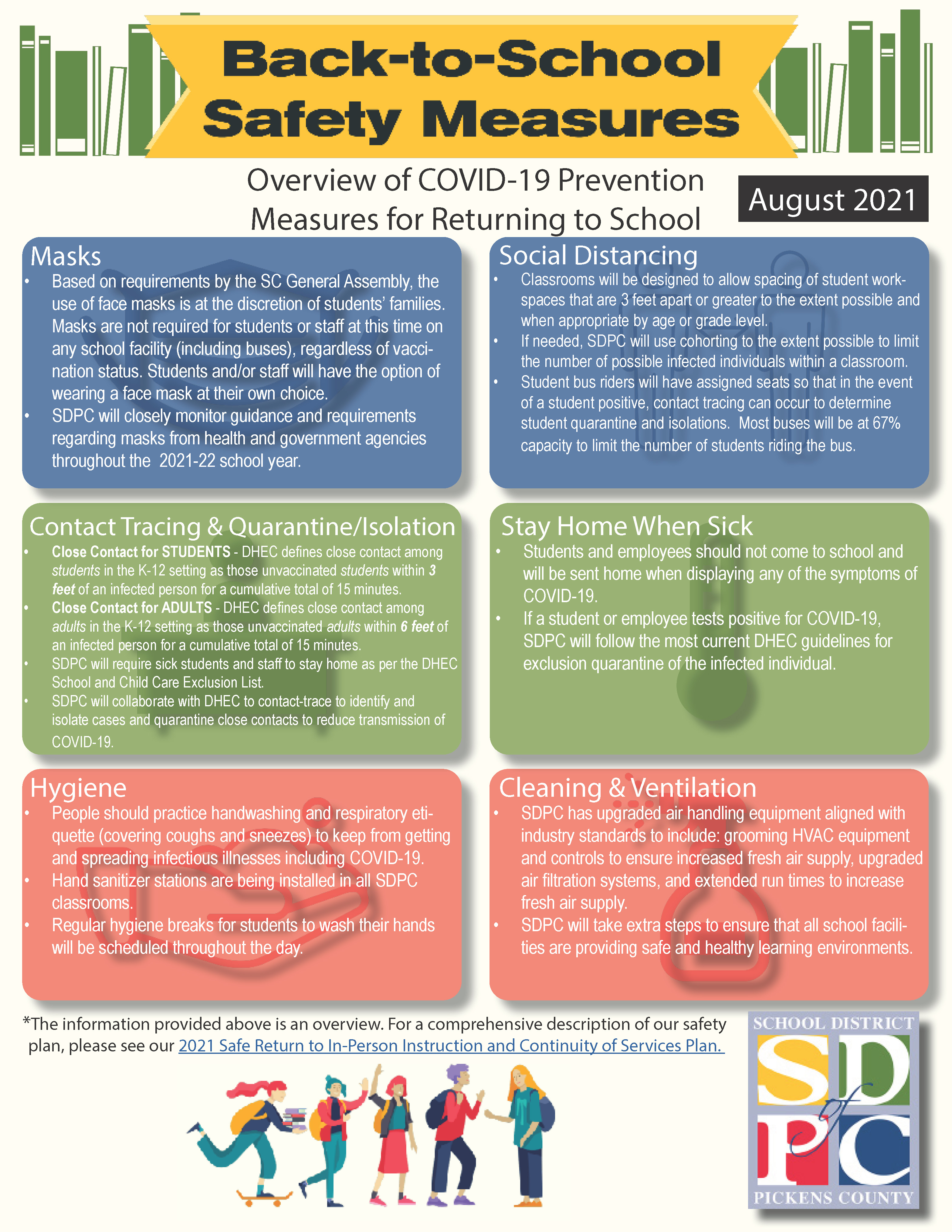 COVID Safety Overview