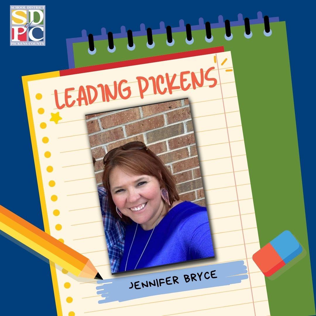 Leading Pickens- Jennifer Bryce