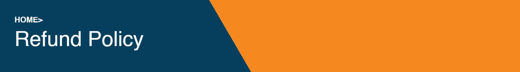 Refund Policy banner