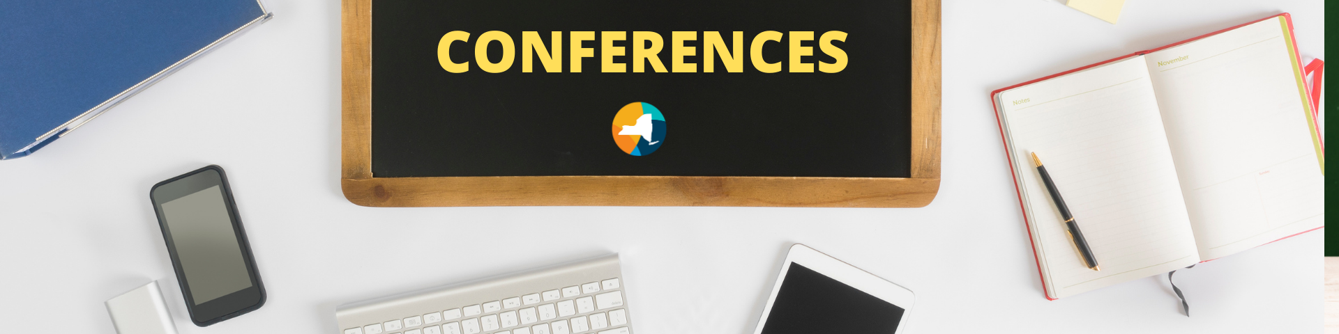 Conferences banner