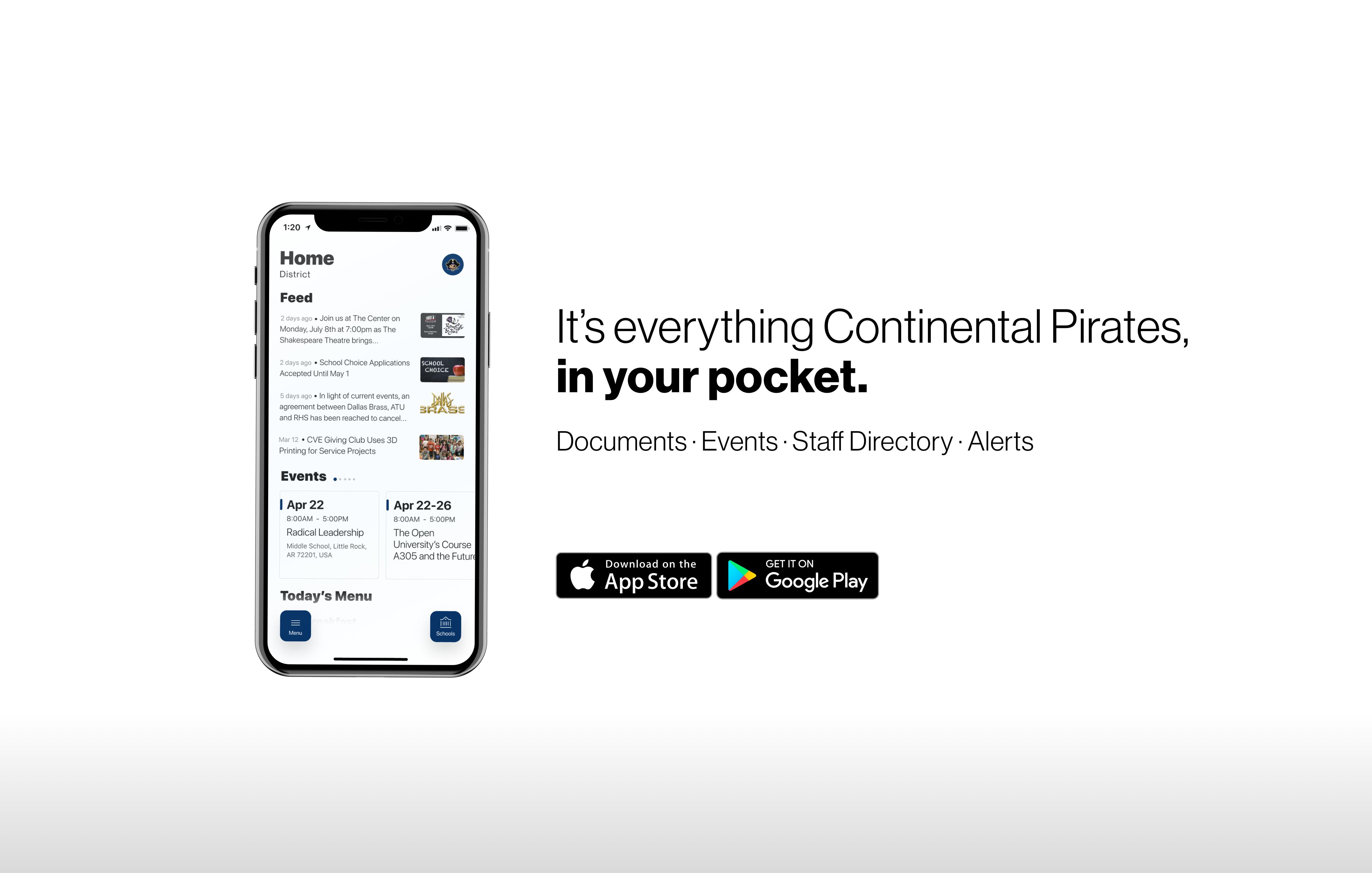 Continental Local App Advertisement