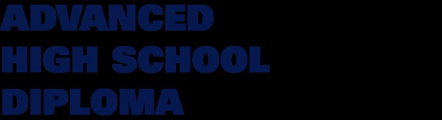 Advanced High School Diploma