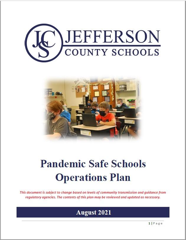 JCS Pandemic Safe Schools Opeartion Plan