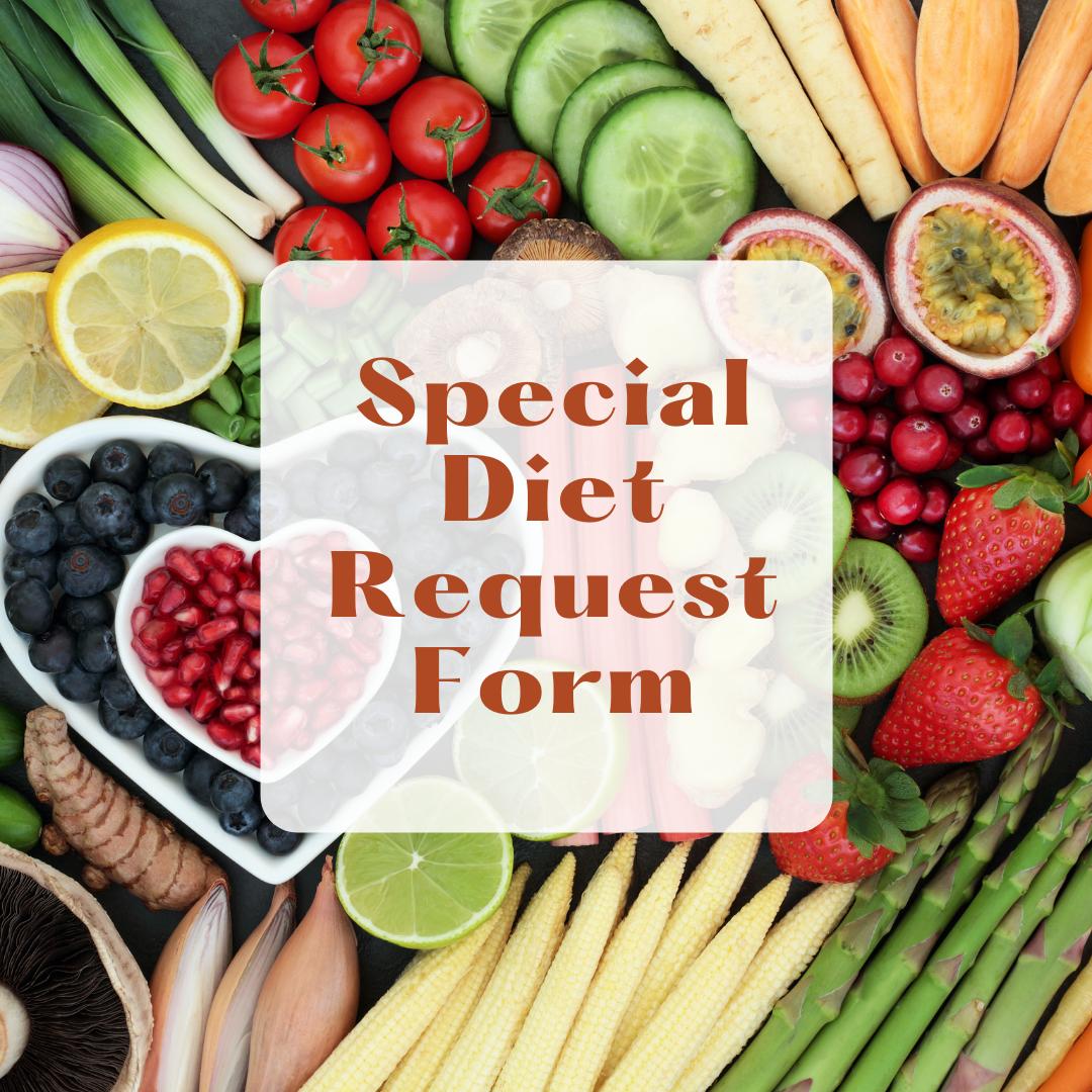 Diet Request form