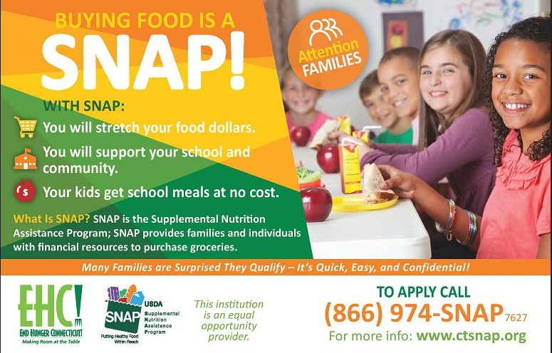buy food is a snap info-graphic