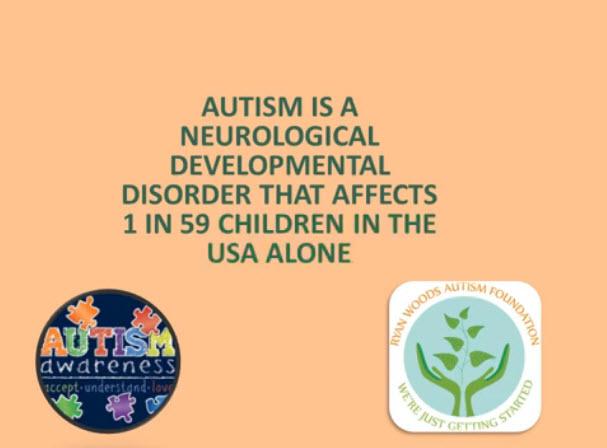 Autism fun fact