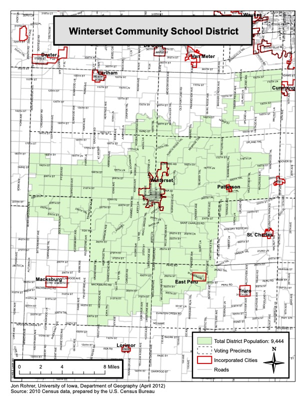 WCSD District Map