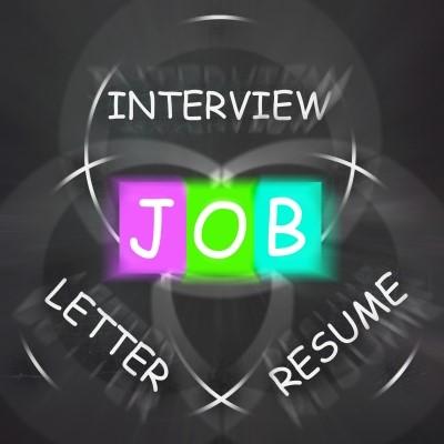 interview, letter, resume, job clipart