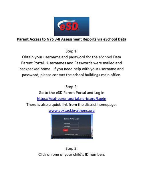 Parent Access to NYS