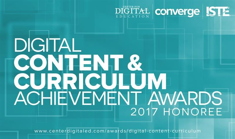DigitalContentAndCurriculumAward