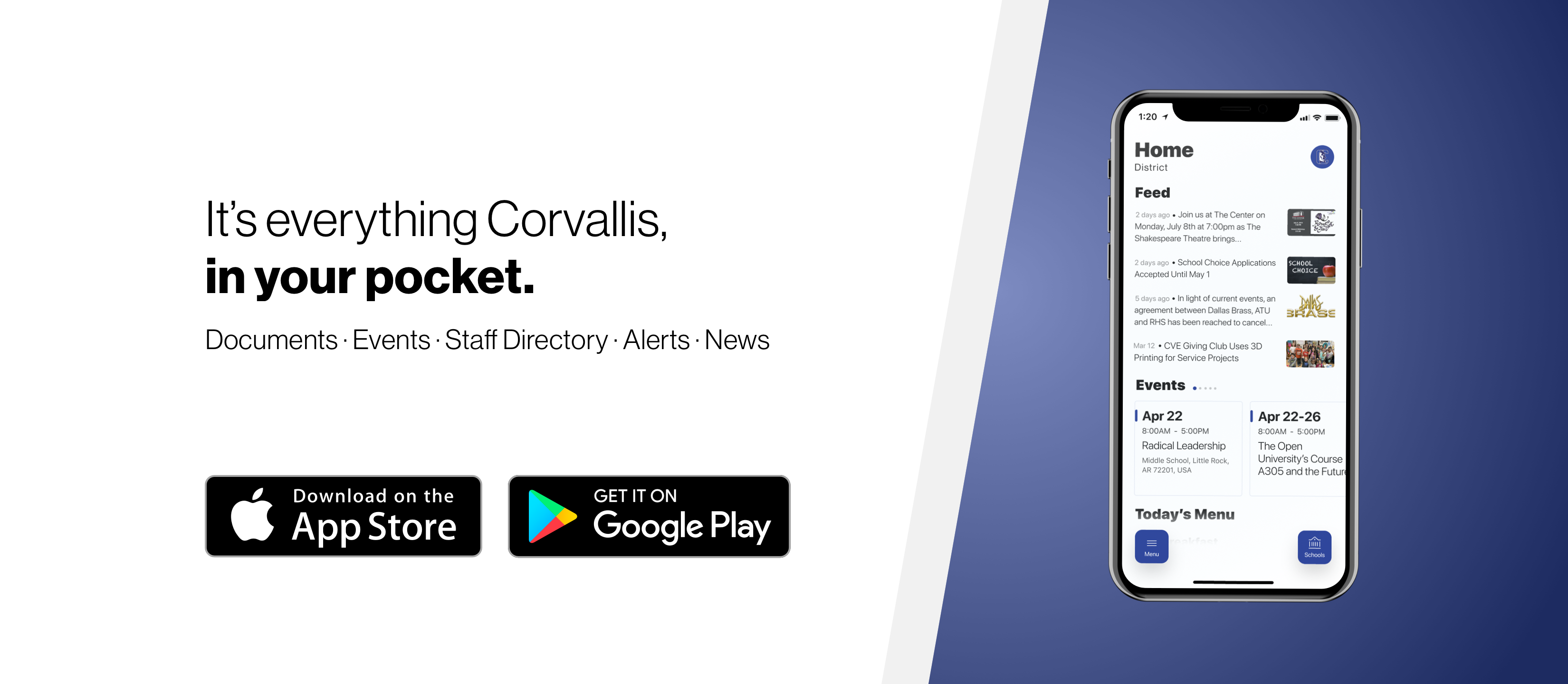 Corvallis Phone App