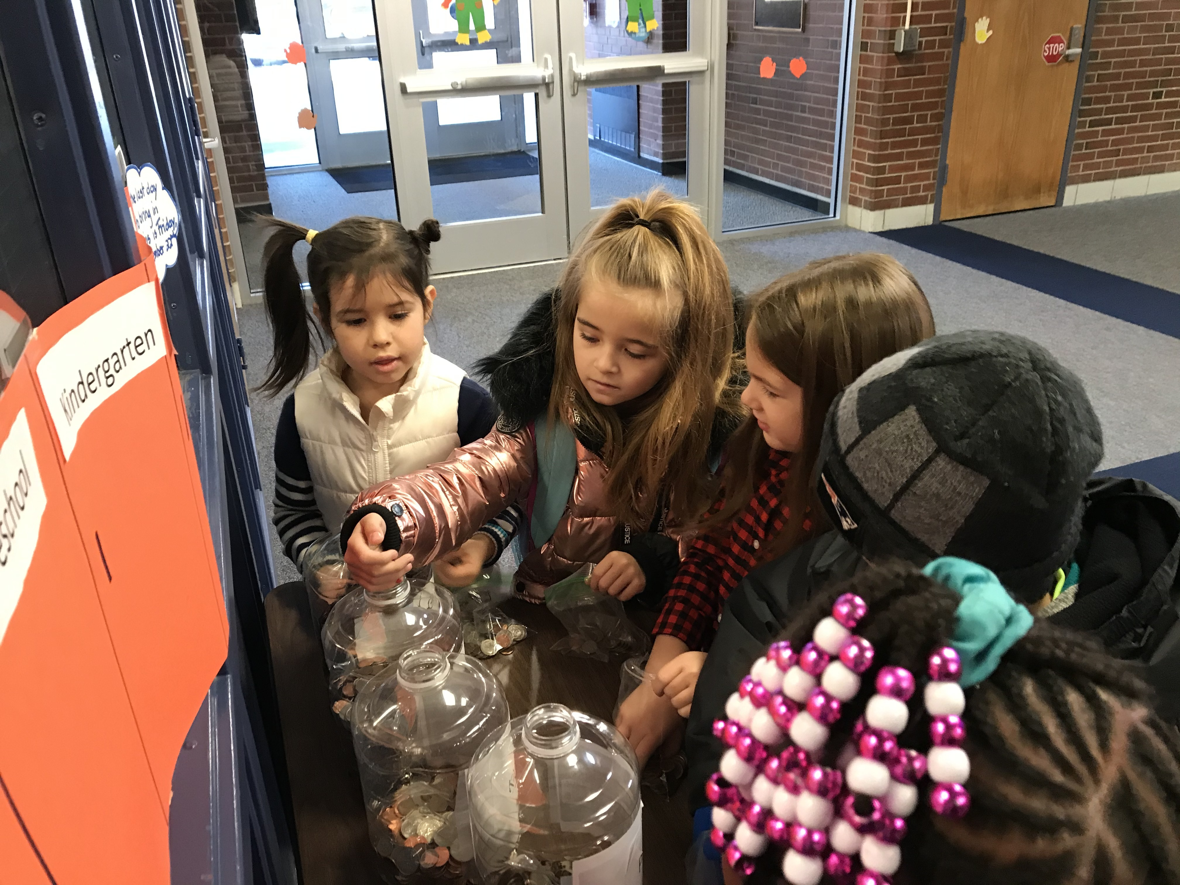 Students at ECS collect coins for Kindness
