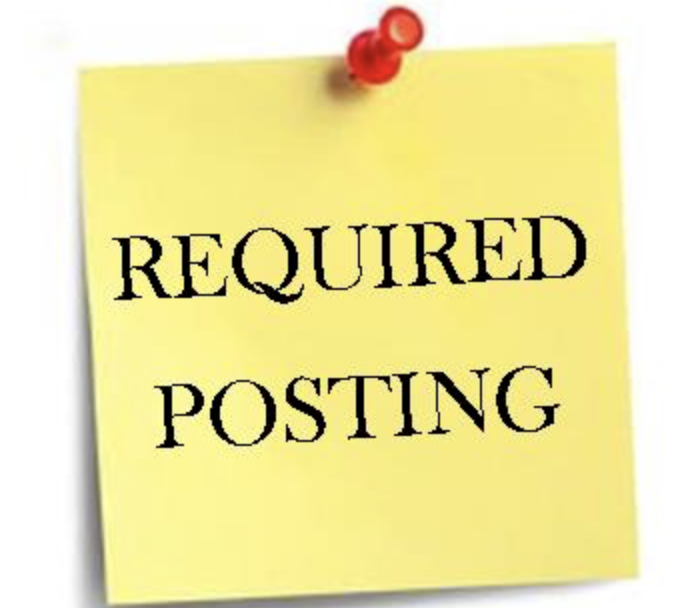 required postings