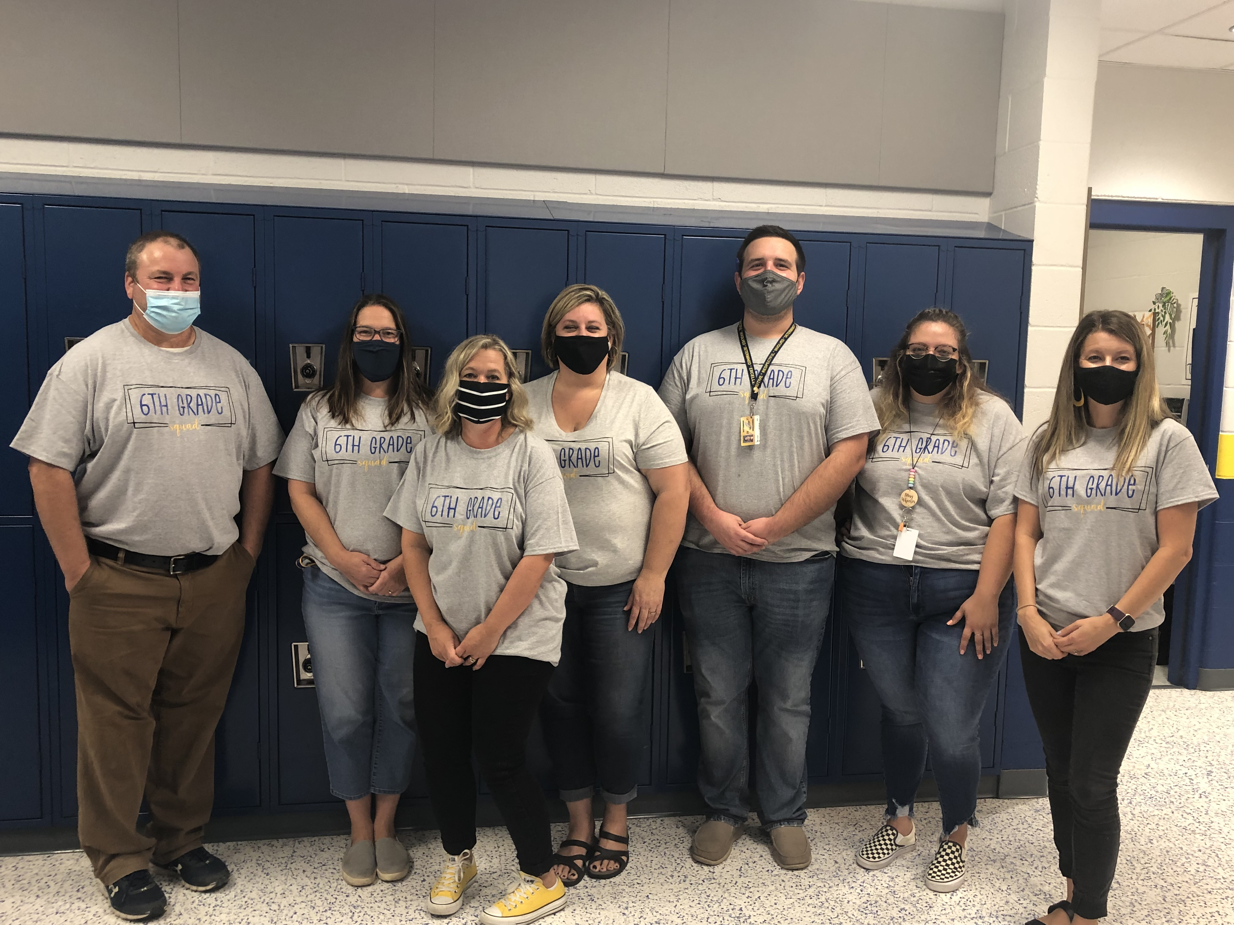 6th grade staff