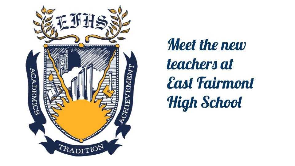 New EFHS teachers