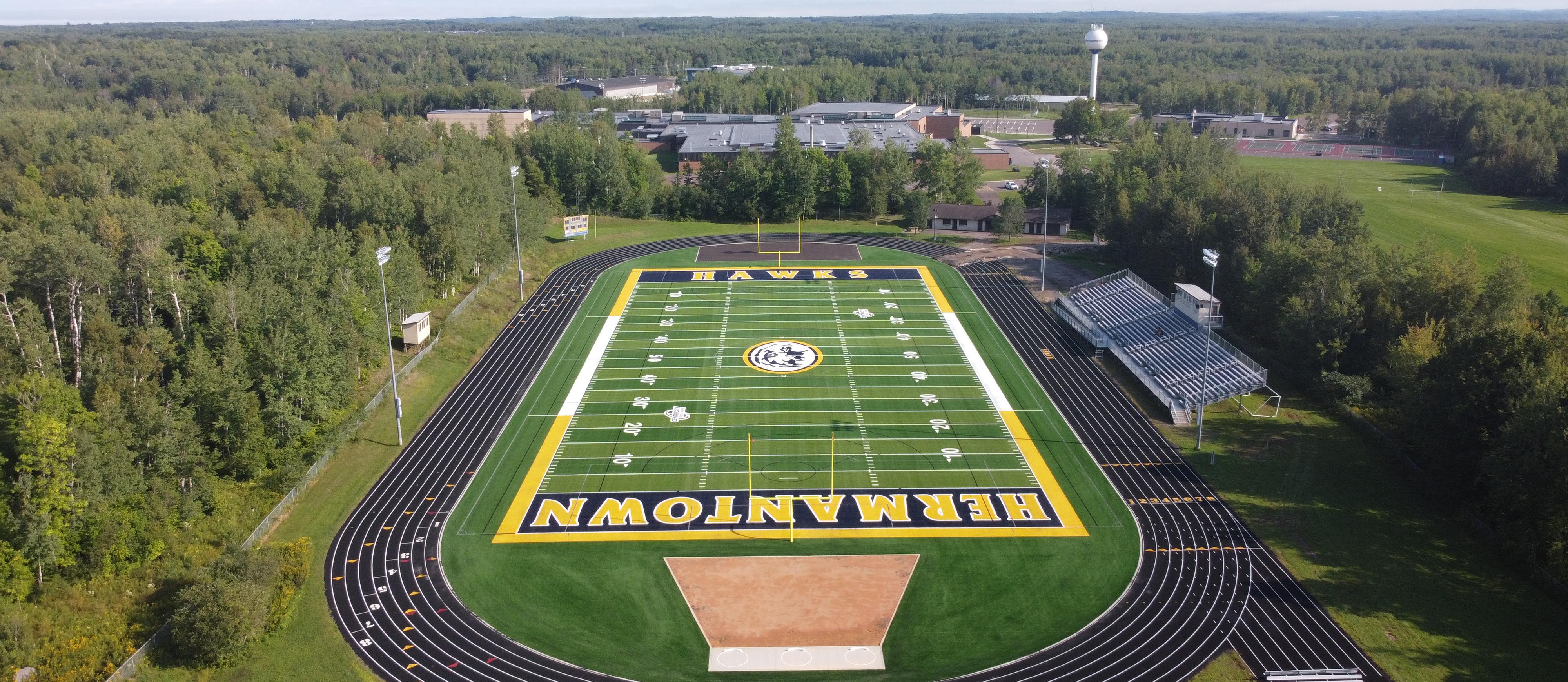 Hermantown Football Field - aerial