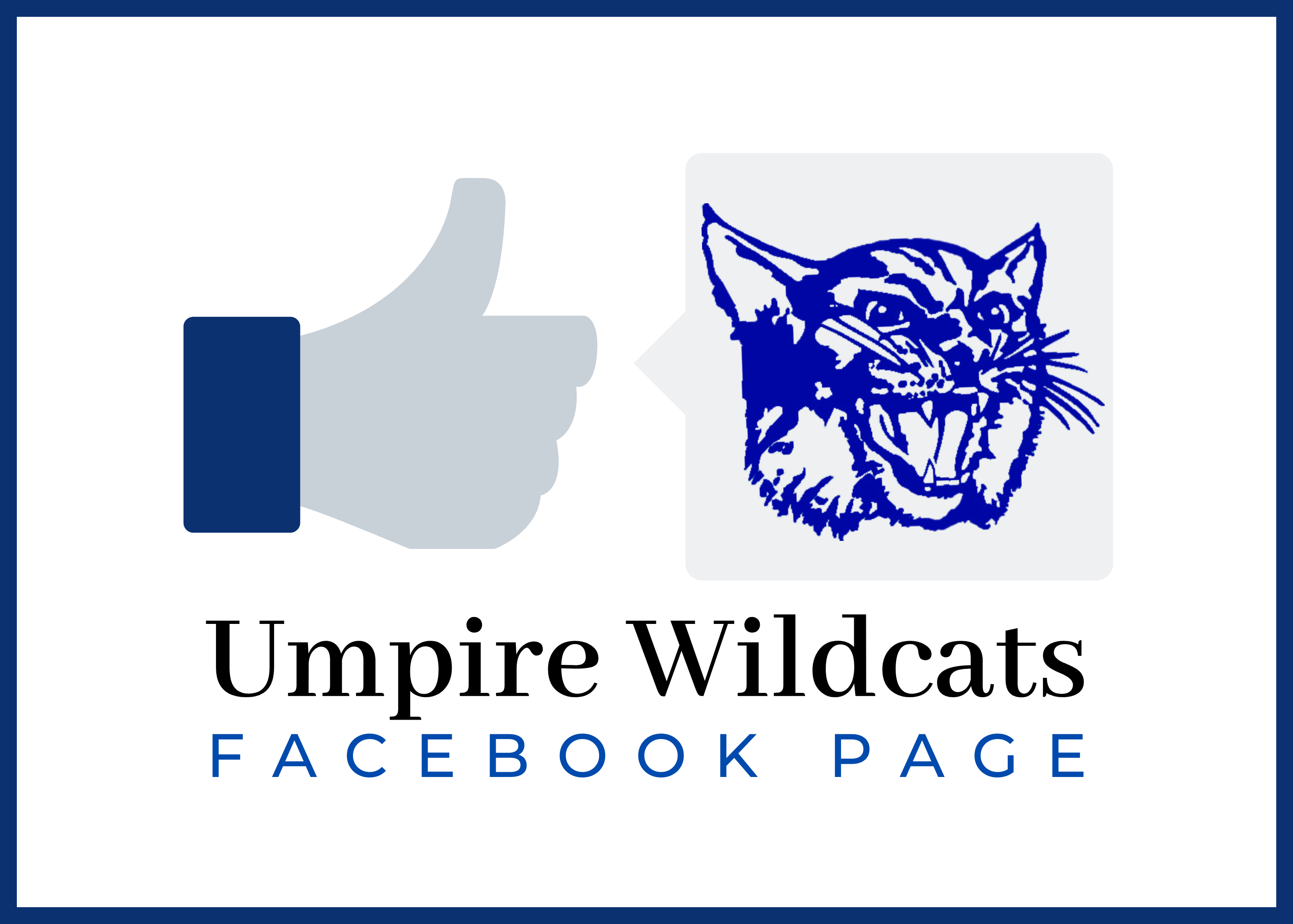 photo of umpire wildcats facebook page graphic