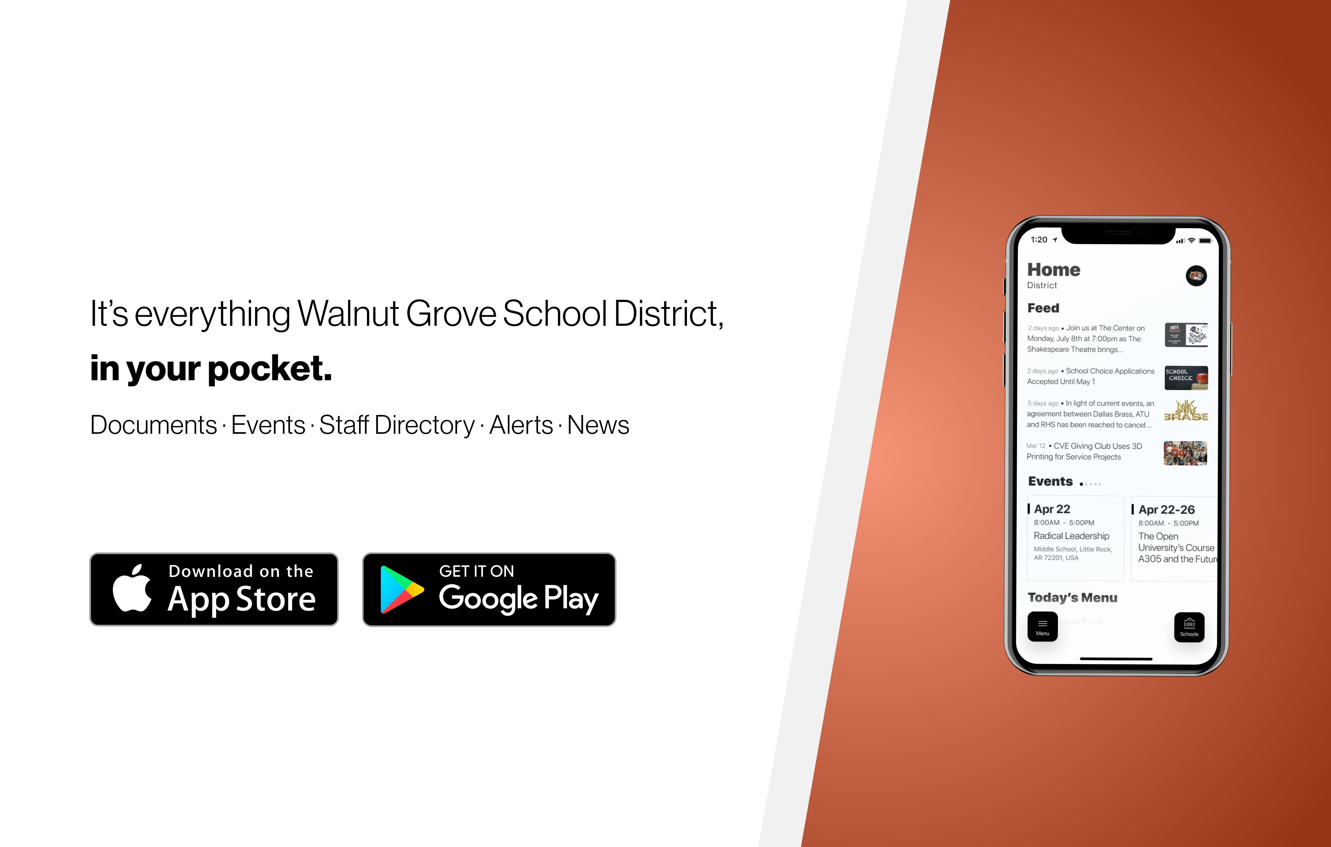Walnut Grove Mobile App