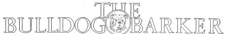 The Bulldog Barker Logo