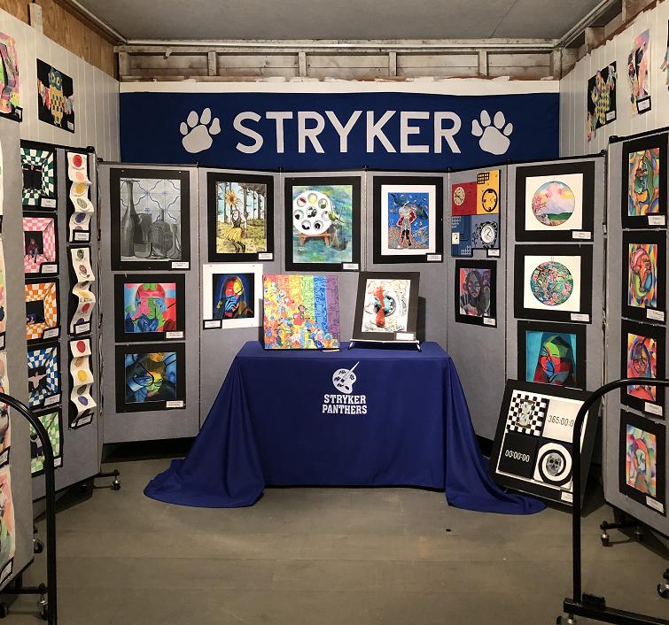 Art Class Fair Booth