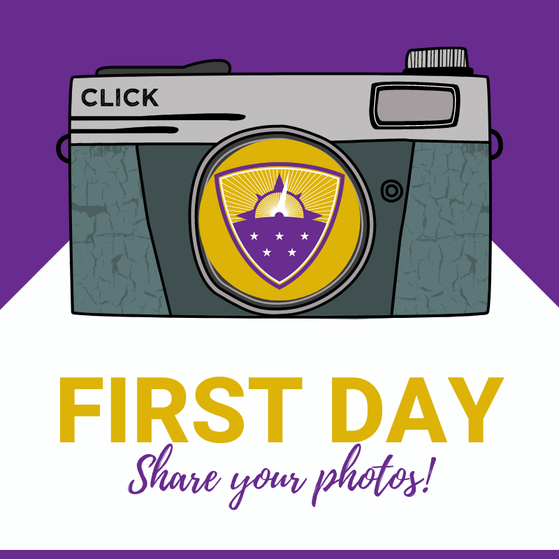 First Day Photos graphic