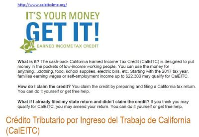 IT'S YOUR MONEY GET IT! - INFORMATION