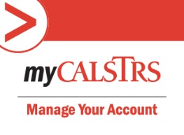 myCALSTRS - Manage your account