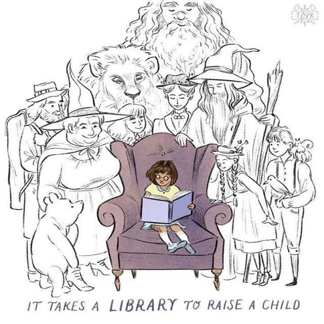 La Gloria Elementary Library