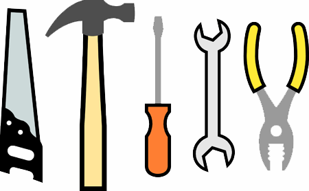 An image of some construction tools.