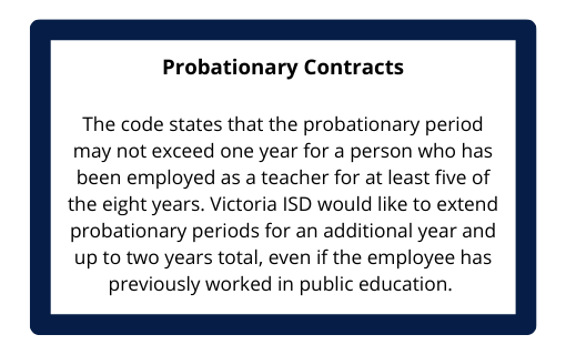 Probationary Contracts