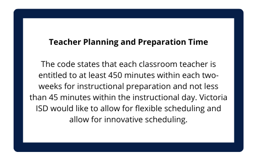 Teacher Planning and Preparation Time